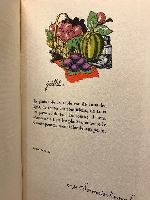 Image for Calendrier Gastronomique