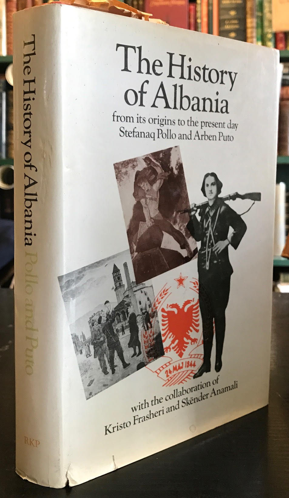 Image for History of Albania : From Its Origins to the Present Day