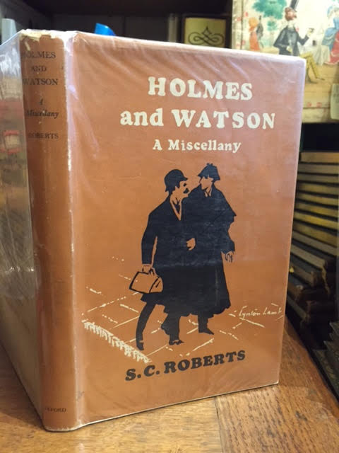 Image for Holmes and Watson a Miscellany