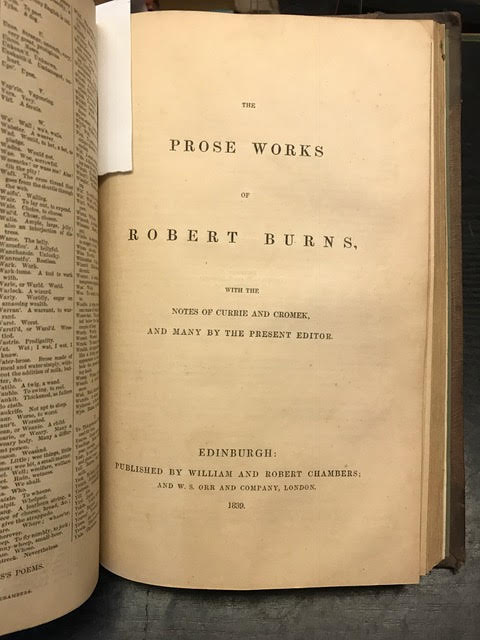 Image for The Life of Robert Burns, The Poetical Works of Robert Burns and The Prose Works of Robert Burns