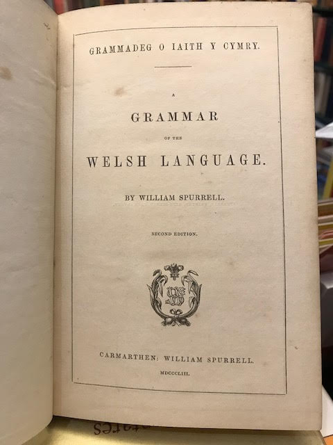 Image for Grammadeg o Iaith y Cymry. A Grammar of the Welsh Language
