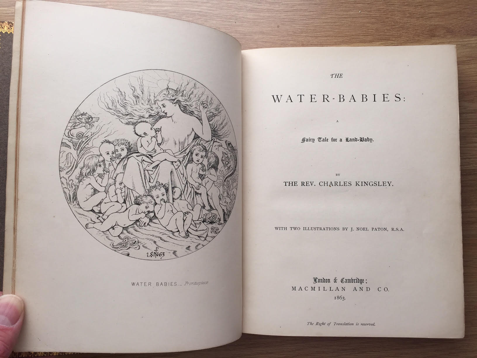 Image for The Water Babies - A Fairy Tale for a Land-Baby