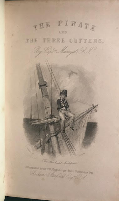 Image for The Pirate, The Three Cutters
