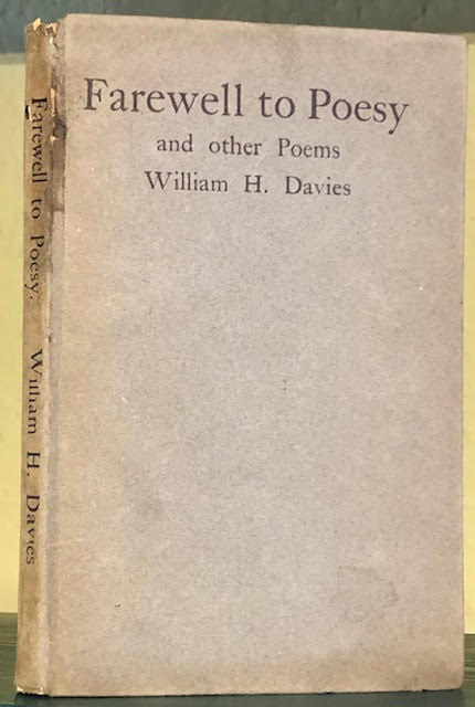 Image for Farewell to Poesy and Other Poems