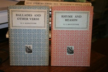 Image for Ballades and Other Verse. 2 Volumes, with Rhyme and Reason, both Signed