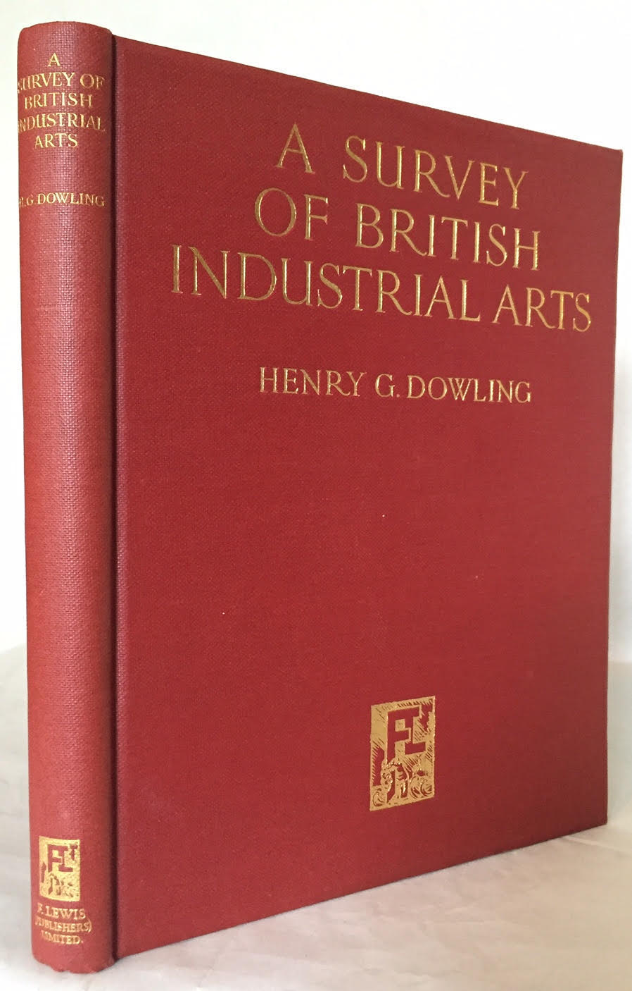 Image for A Survey of British Industrial Arts