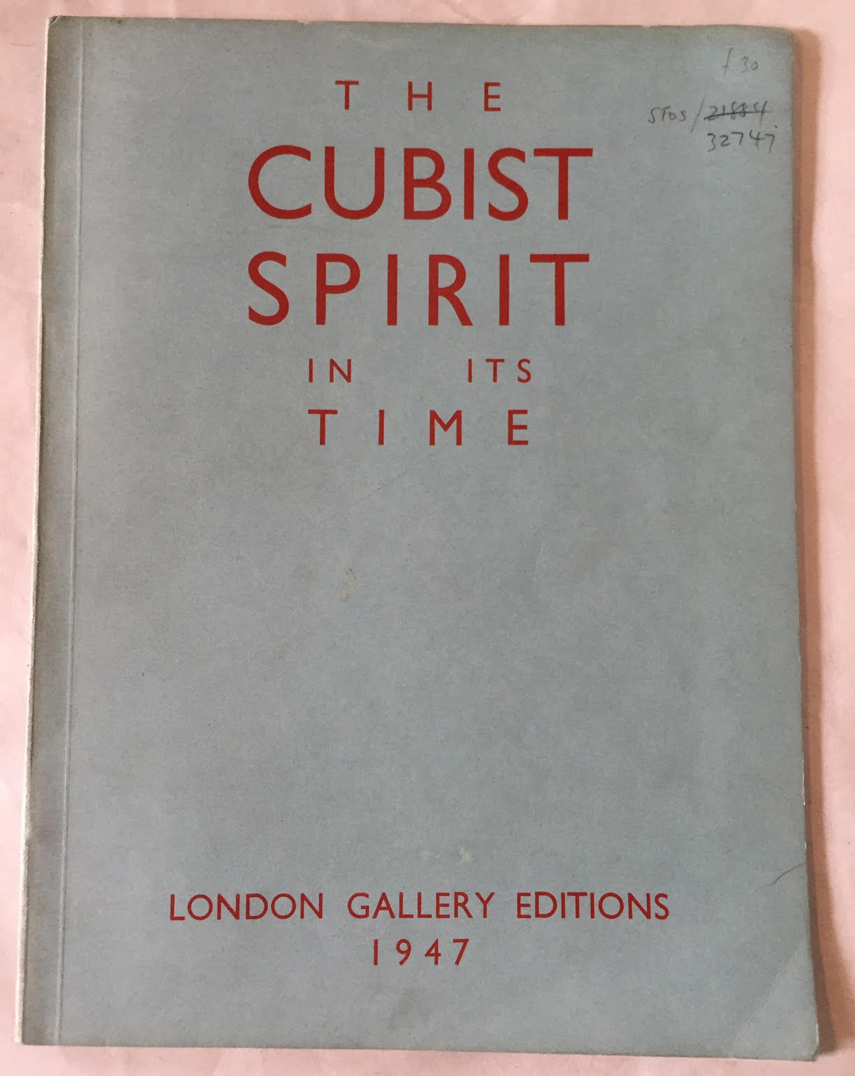 Image for The Cubist Spirit in Its Time - 18 March to 3 May 1947
