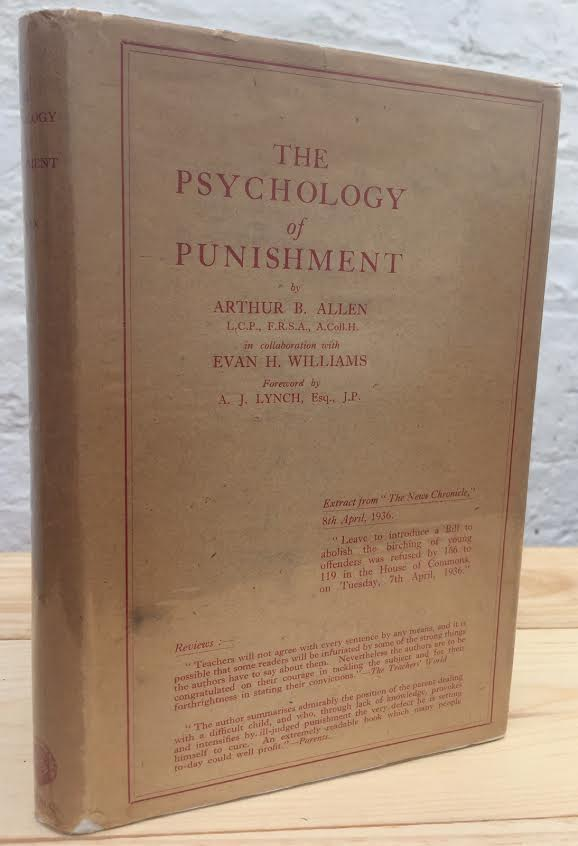 Image for The Psychology of Punishment