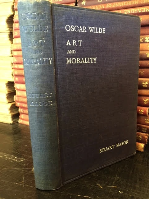 Image for Oscar Wilde, Art and Morality