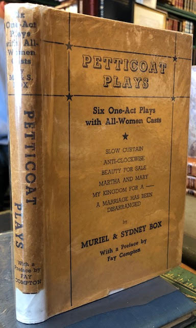 Image for Petticoat Plays, Six One Act Plays with All Women Casts