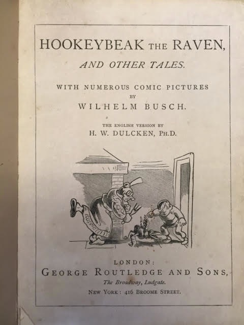Image for Hookeybeak the Raven, and Other Tales