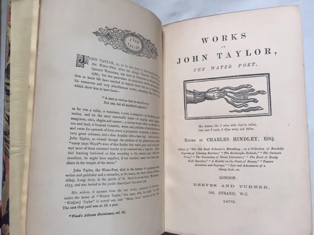 Image for Works of John Taylor the Water Poet