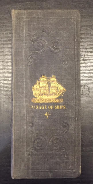 Image for Tables of the Tonnage of Ships Calculated According to the Rules Prescribed By Law, Including Every Description of Vessels from 12 to 600 Burthen: Together with a Complete Explanation of the Method of Admeasurement Etc Etc