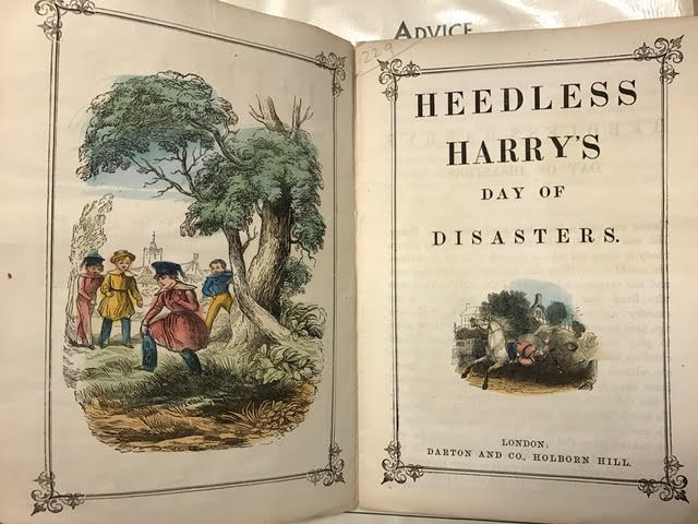 Image for Darton's Indestructible Fun for Little Folks, Heedless Harry's Day of Disasters