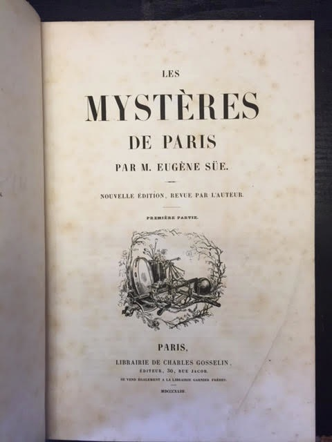 Image for Les Mysteres De Paris