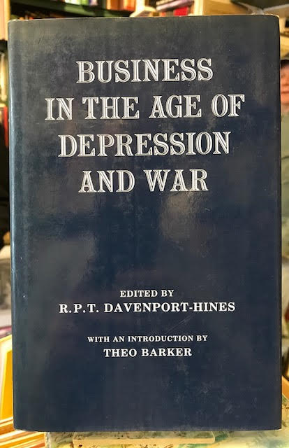 Image for Business in the Age of Depression and War