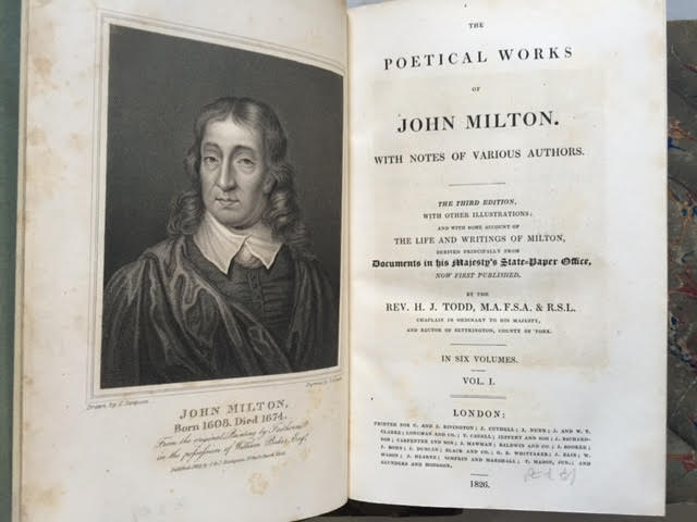 Image for The Poetical Works of John Milton, with Notes of Various Authors