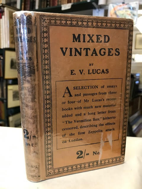Image for Mixed Vintages: A Blend of Essays Old and New