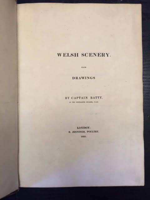 Image for Welsh Scenery from Drawings