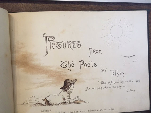 Image for Pictures from the Poets