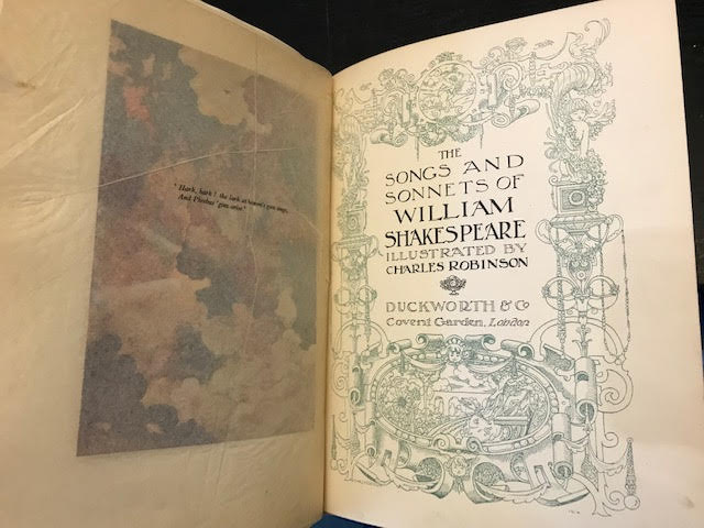 Image for The Songs and Sonnets of William Shakespeare