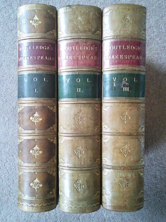Image for The Works of William Shakespeare in 3 Volumes