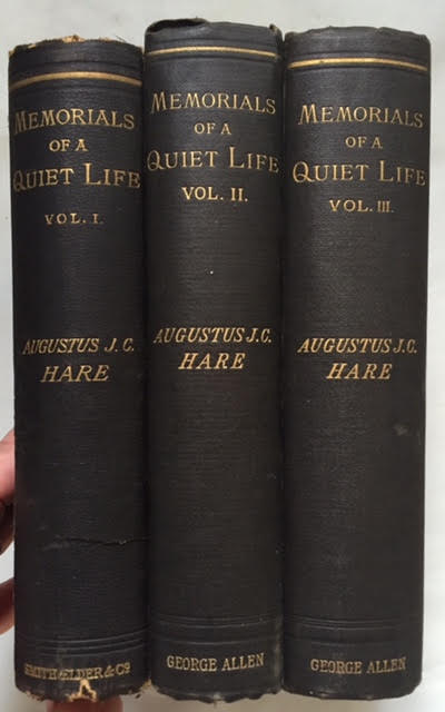 Image for Memorials of a Quiet Life in 3 Volumes