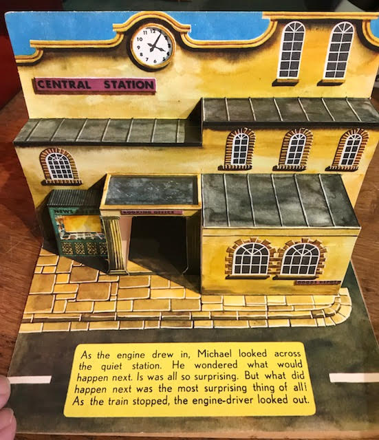 Image for Pop Up Railway Station, a Bancroft Pop Up Model Book