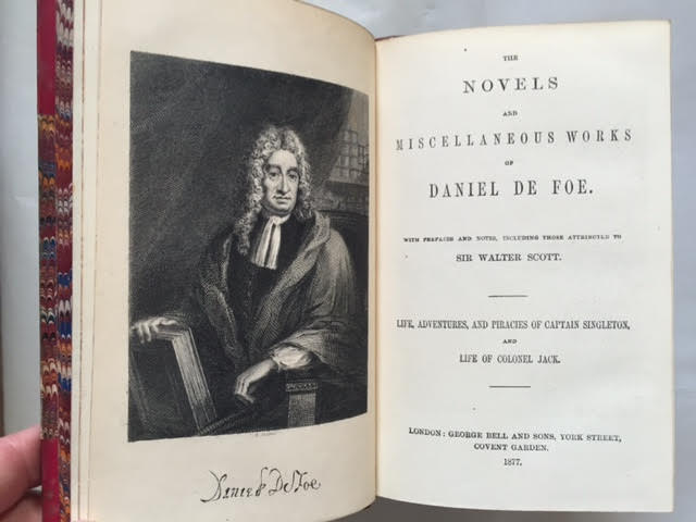 Image for The Novels and Miscellaneous Works of Daniel De Foe