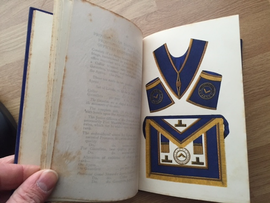 Image for Freemasonry; it's outward and visible signs