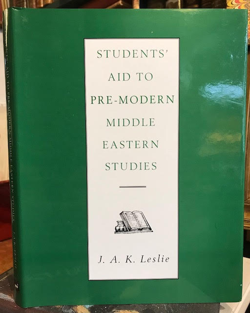 Image for Students' Aid to Pre-Modern Middle Eastern Studies