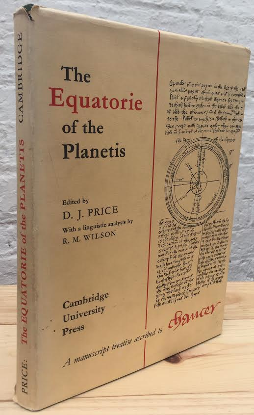 Image for The Equatorie of the Planetis a Manuscript Treatise Ascribed to Chaucer