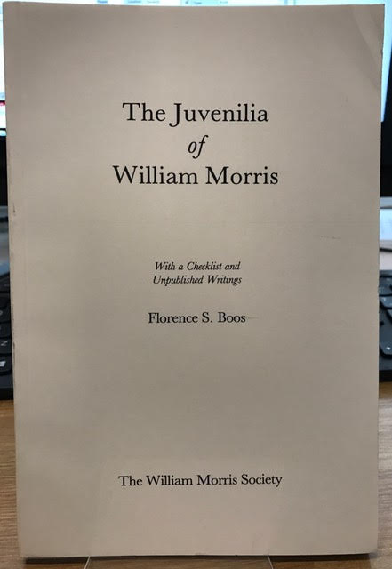 Image for The Juvenilia of William Morris: With a Checklist and Unpublished Writings