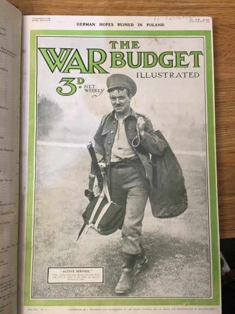 Image for The War Budget Vol III No's 1 - 13