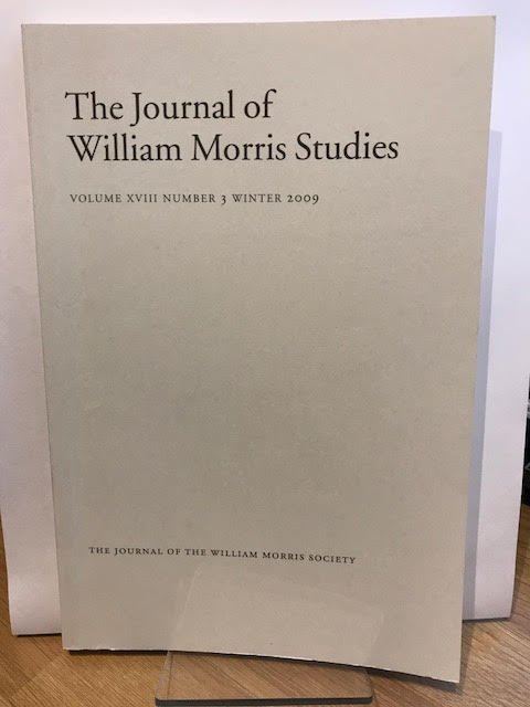Image for The Journal of William Morris Studies. Volume XVIII / 18 , Number 3, Winter 2009