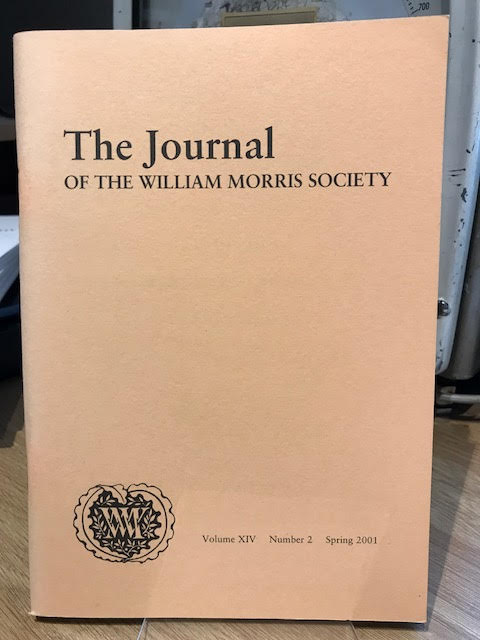 Image for The Journal of William Morris Studies. Volume XIV / 14 , Number 2, Spring 2001