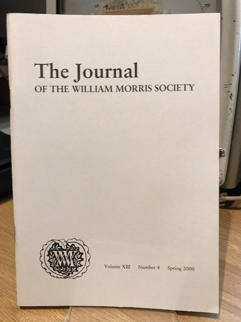 Image for The Journal of William Morris Studies. Volume XIII / 13 , Number 4, Spring 2000