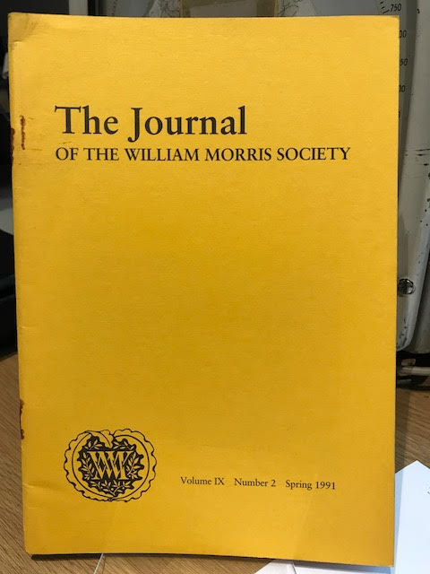 Image for The Journal of the William Morris Society.  IX / 9 , Number 2,  Spring 1991