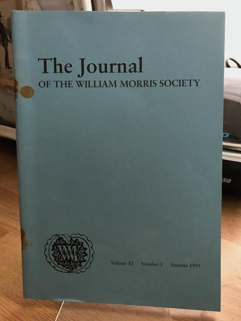 Image for The Journal of the William Morris Society.  XI / 11, Number 3,  Autumn 1995