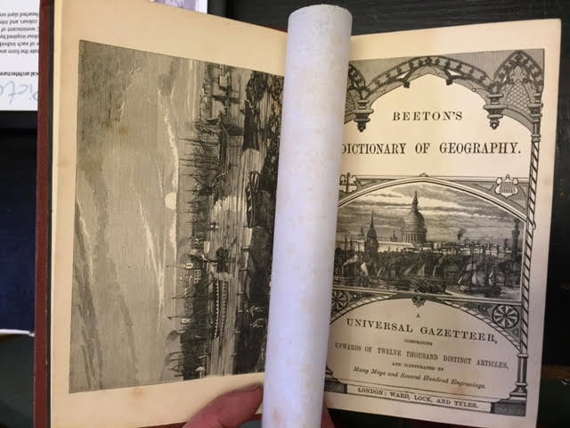 Image for Beeton's Dictionary of Geography. A Universal Gazetteer.