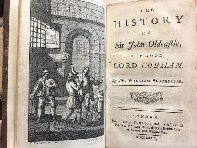 Image for The History of Sir John Oldcastle, the Good Lord Cobham