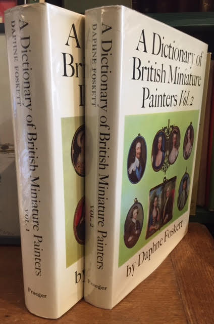 Image for A Dictionary of British Miniature Painters in Two Volumes