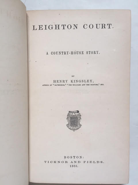Image for Leighton Court: A Country-House Story
