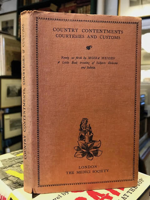 Image for Country Contentments Courtesies & Customs: A Little Booke Treating of Subjects, Delicate and Subtil, Newly Set Forth