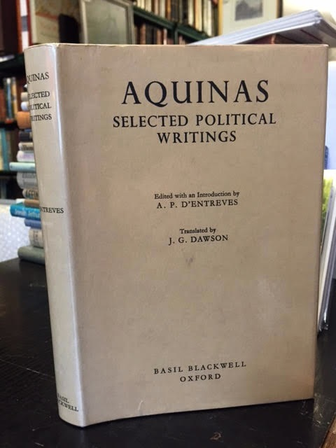 Image for Aquinas: Selected Political Writings