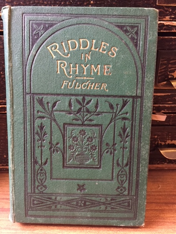 Image for Riddles in Rhyme a Book of Enigmas-Charades-Conundrums