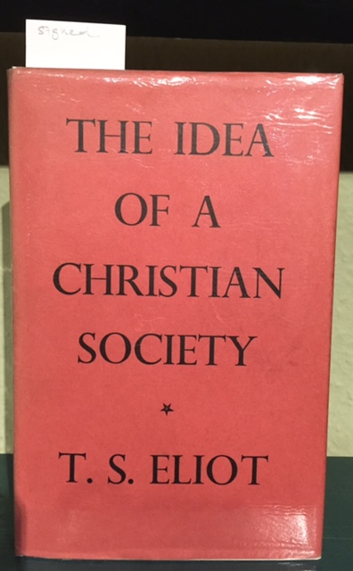 Image for The Idea Of A Christian Society
