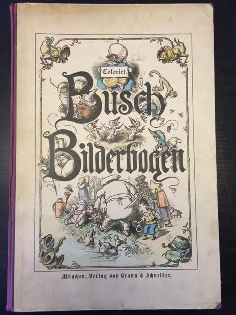 Image for Busch Bilderbogen Coloriert