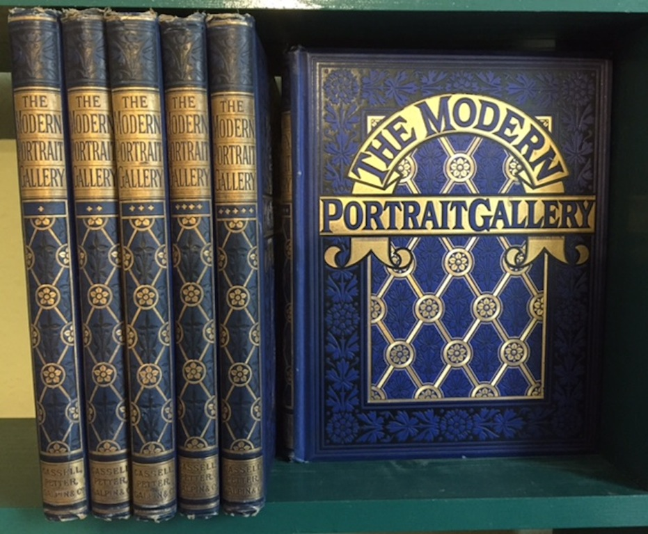 Image for The Modern Portrait Gallery. In six volumes