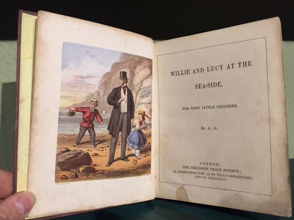 Image for Willie and Lucy At The Sea-Side